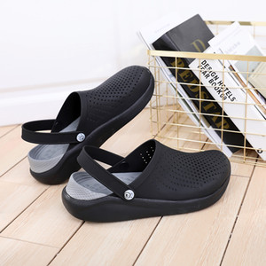 Sandales d'été pour les femmes de la plage Sport Femmes Hommes Slip-on Chaussures Chaussons Femme Homme Croc Sabots Crocks Crocse eau Mulets