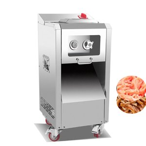 2020 new Powerful 2200W 400KG H meat cutting machine commercial vertical meat slicer cutter machine price