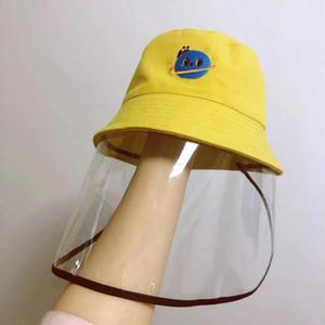 Maschere figli dei figli Cappello Pescatore bambini caldo di vendita di protezione Cap prevenire l'isolamento di protezione Cap Ragazzi Ragazze moda Sunhat all'ingrosso