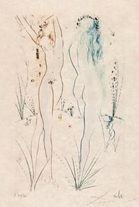 Salvador Dali Retour Home Décor peint à la main HD Imprimer Peintures à l'huile sur toile Wall Art Photos 191113