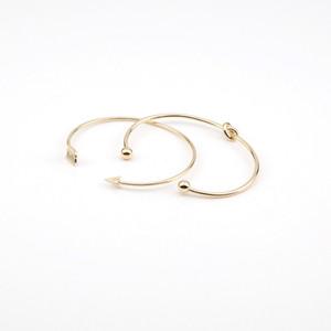 Vintage Bracelet Bracelets Bracelet pour femmes Brefs couleur d'or flèche ouverte Knotted Charms Bracelet 2Pcs / Lot Beach Party Bijoux Saint-Valentin DHL cadeau