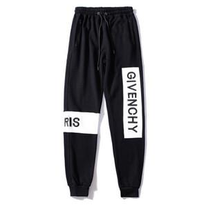 Produtos famosos internacionais Homens High-end calças Delicate bordado calças Lazer movimento Moda calças