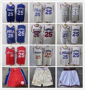 Men's 2020 Philadelphia76ersJersey 25# Ben Simmons New Season S-XXL Basketball Jersey Sports cheap