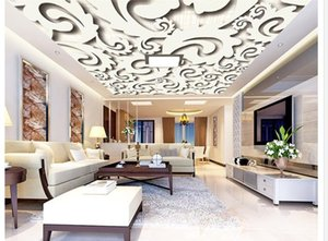 Art pattern ceiling ceiling simple TV background wall 3d ceiling murals wallpaper