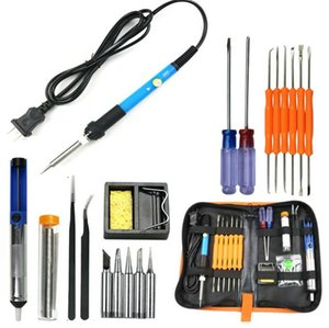 Pro 7IN1 60W Adjustable Electric Temperature Gun Welding Soldering Iron Tool Kit