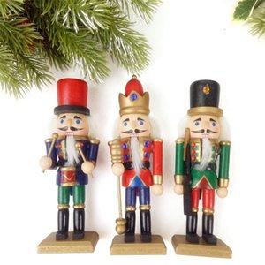 Europeus e Americanos Festival Início / Bar Artigos Decorativos Natal das Crianças 15 CM Quebra Nozes Fantoche Soldado Mordaça Brinquedos