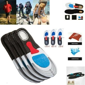 Caresole Tagliabile Hot solette di scarpe Figura intera sostegno di arco Ortesi per fascite plantare del piede Confort tacco Pain Relief Walking Run escursionismo