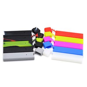 Capa de silicone casos de coco colorido luva capa de camuflagem protetor vape reutilizável anti-derrapante linha de couro pele ecig acessórios dhl livre