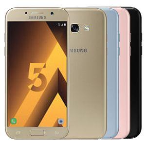 Recuperado Original Samsung Galaxy A5 2017 A520F 5,2 polegadas Octa Núcleo 3GB RAM 32GB ROM 16MP 4G LTE Android Mobile Phone DHL 10pcs