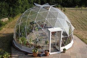 Tenda a cupola geodetica per hotel grande trasparente glamping per campeggio in famiglia