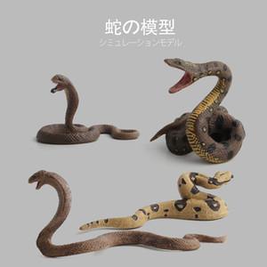Animal Model Toy Wild Animal Model Viper Cobra Static Model Toy Doll