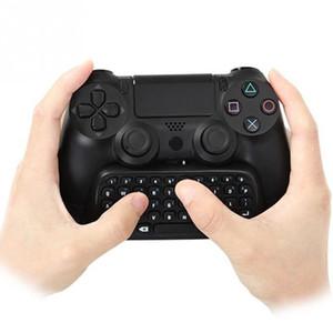 PS4 플레이 스테이션 4 컨트롤러에 대 한 50sets 유용한 뜨거운 판매 환상적인 무선 블루투스 키보드 Chatpad