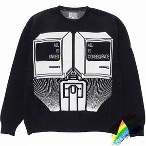2020ss CAVEMPT C.E suéter mujeres de la alta calidad suelta Hip Hop Casual Streetwear C.E Cav Empt suéter