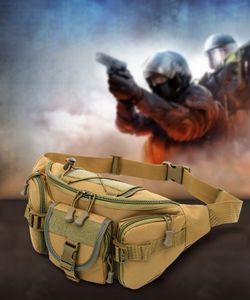 camouflage Tactical outdoor Shoulder waist Waterproof Oxford Molle Camping Hiking Climbing runcksack Bag pack men women
