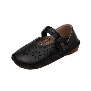 Bekamille sandali per i pattini ragazze dei bambini di estate Retro bambino ritagli Tempo libero Moda scarpe singolo sveglie