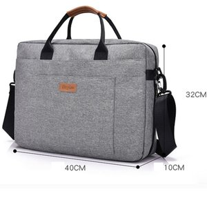 Nylon Laptop Briefcase Bag Men's Office Travel Messenger Large Tote Women Notebook Computer Work Bag Business Trip File Package