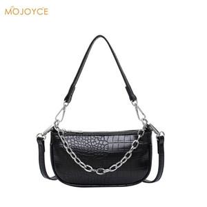 2020 PU cabedal Women Handbags Solid Armpit Elegant Female Shoulder Travel Totes Bag Stone Pattern Ladies Fashion Bag