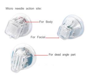 Remplacement de la cartouche Pour Microneedle fractionnel RF machine Scar Removal Traitement de l'acné vergetures enlèvement rf Rajeunissement de la peau