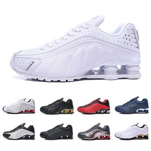 Nike AIR shox 2019 nuevo entregue 301 hombres zapato corriente aire envío de la gota venta al por mayor famoso ENTREGA OZ NZ hombre zapatilla deportivas zapatillas deportivas 40-46