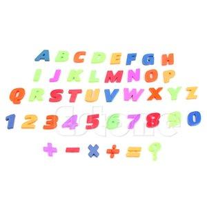 42pcs / Set Магниты Обучение алфавит Красочная магнитные холодильники Буква Цифра магниты на холодильник