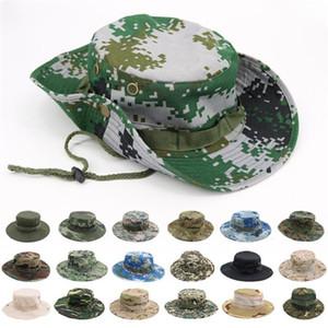 여름 야외 스포츠 위장 모자 모자 라운드 에지 차양 모자 자외선 차단 낚시 모자 파티 HatsT9I00326