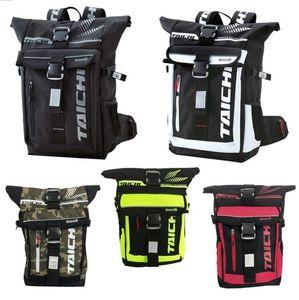 TAICHI 274 waterproof backpack male off-road motorcycle rider bag female riding shoulder bike bag mountain bike locomotive