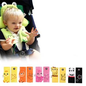 Персонаж из мультфильма Чехлы на ремни безопасности для детей Автомобильный ремень безопасности Чехол для ребенка Предотвращение износа Защита плеча Оболочка Мода 12 3ce L1