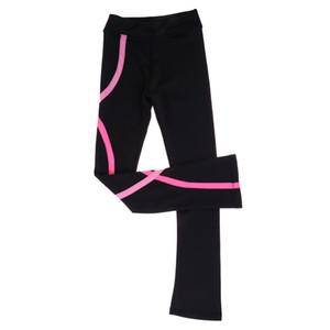 Figura de hielo vestido de patinaje Pantalones Pantalones Pantalones Girls Mujeres Skate Follets Tastics Leggings