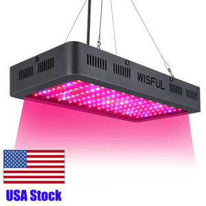 1000W 1200W 1500WAT Double Chip Full Spectrum LED Grow Lights square Led Grow Light for hydroponics plant growing lights Free Ship