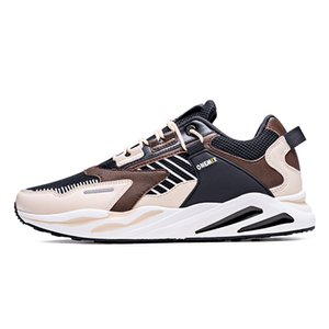 New Brown Kind Gray White Orange Black Lace Soft Cushion Young MEN Boy Running Shoes Low Cut Designer Trainers Sports Sneaker