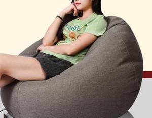 60 * 75 CM Ucuz EMS Ücretsiz Kargo Kanepe kanepe tatami oturma odası tek fasulye torbası otel mobilya kumaş kanepe