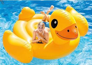 Плавучий плот Плавательный бассейн плавательный фламинго сгущает гигантский надувной плавательный бассейн Фламинго плавательный плот плот 205 * 200 * 128 см без воздушного насоса DH1069-1