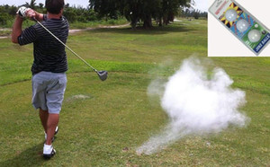 Golf Joke Topu Patlayan Golf Topu Prank Komik Gag Trick Hediye 3 Toplar / Paketi