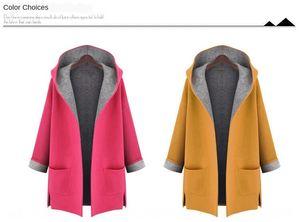 FR0R5 2019 bigger size loose slim woolen hooded 2019 fat fat bigger size Windbreaker hoodie coat hoodie windbreaker coat loose slim woolen h