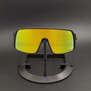 El paquete completo de la nueva marca Sutres polarizado gafas ciclismo Hombres Mujeres Bicicleta de Oro de bicicletas Deportes 09406S 3 pares de la lente de ciclismo gafas de sol con el caso