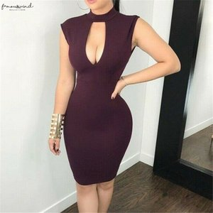 Women Fashion Sexy Summer Party Dress Wine Red Sleeveless Bodycon Hollow Out Backless Mini Dresses Lace Skinny Short Mini Dress S Xl