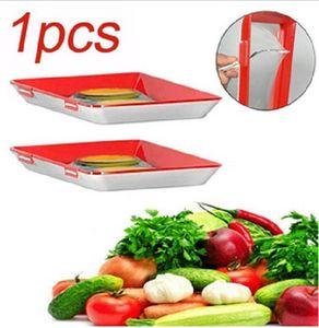 Creative Food Preservation Tray Stapelbares Frischhalteblech Magic Elastic Frischhalteblech Healthy Kitchen Tools Vorratsbehälterset