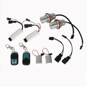 CAR Angel Eyes Marker RGBW MULTICOLOR 20W LED for BMW E39 E53 E60 Halo Ring Marker Light Bulb