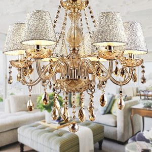 2019 Hot Lustre para sala Luxurious European Style Chandelier 6 Arms Dieter 58 smith Room Living Lamance Lustre para quarto