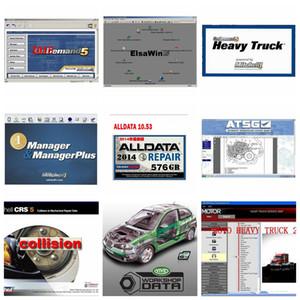 2020 горячая Alldata Mitchell Software Autodata 3,38 + Все данные 10,53 + Mitchell по требованию 2015 + ElsaWin + Vivid + ATSG 24 в 1TB HDD USB3.0 свободный корабль