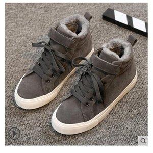 Velvet Shoes Women's Winter Plus Thickening Running Ladies Korean Version Of Autumn And Winter Wild New 2019 Two Cotton Canvas Sh
