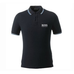 SS20 Polo Shirt hugo Herren T-Shirt Gezeiten Stickerei T-Shirts Designer Mode-T-Boutique-Marken