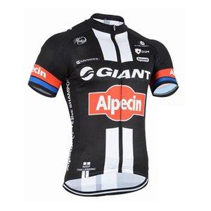 2017 GIANT-Alpecin КОМАНДА с коротким рукавом про Велоспорт Джерси Велосипед рубашки / велосипед Биб шорты мужчин задействуя одежда S081301