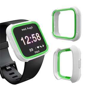 Caso molle di TPU per la vigilanza dello schermo di copertura Shell impermeabile Fitbit Versa 2 della protezione della fascia di Fitbit Versa 2 Smart Guarda