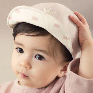 Spring Autumn Baby Boy Girl Sun Hat Crown Printed Soft Eaves Baseball Cap 6M-3T Cotton Unisex Nylon Fastener Tape Babyage