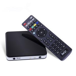 Mini Set Box TVIP 605 Android&Linux Android TV Amlogic S905X Quad-core Doppio Sistema supporto H.265 1920x1080 Smart