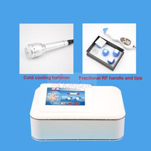 2en1 piel portátil fresca fraccional rf microneedle radiofrecuencia máquina de belleza rf máquina de eliminación de arrugas lifting facial rejuvenecimiento de la piel