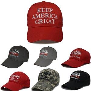 Keep America Grande Cappello 2020 Donald Trump repubblicano Snapback Hats Sport Baseball Caps Kag Mens sfera di modo delle donne Cap # 776
