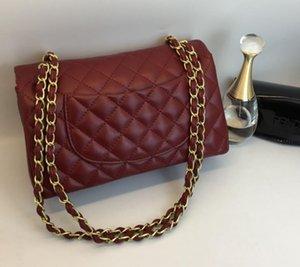 2019 Nueva venta caliente de moda bolsos de la vendimia bolsos de las mujeres Bolsos del diseñador Carteras para las mujeres Bolso de cadena de cuero Crossbody y bolsas de hombro