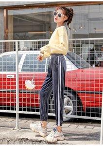 Fashion Women Joggers Casual Loose Side Striped Long Pants Sweatpants Trousers Leggings Sweat Wear Plus d88888